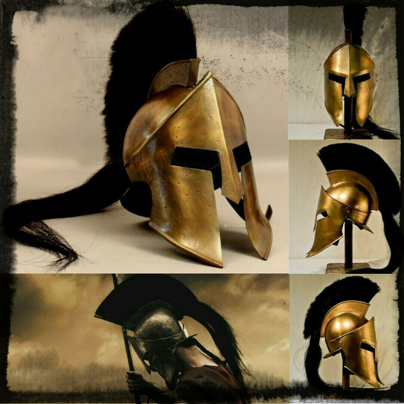 The Great Spartan king Leonidas Helmet