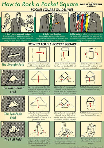 The Art of Pocket Squares