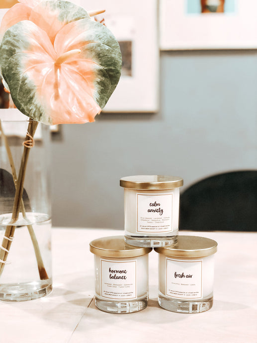 Gold Drop Society X Jules & Gem HI Collaboration Candles