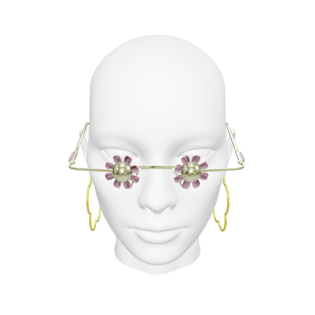 DAISY SPECS & HOOP EARRINGS