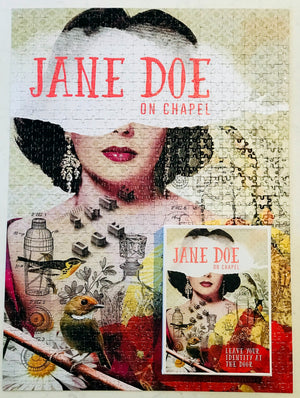 Jane Doe 1000 piece puzzle | Small Batch Bottling Co | Cocktails delivered to your door