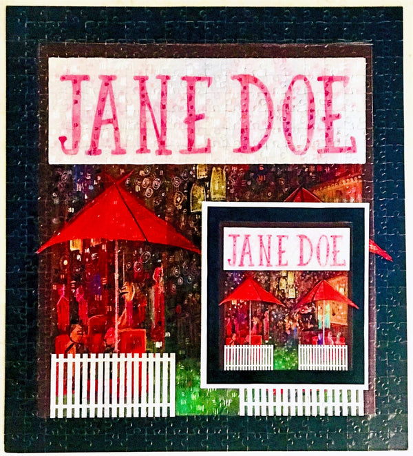 Jane Doe 500 piece puzzle | Small Batch Bottling Co | Cocktails delivered to your door