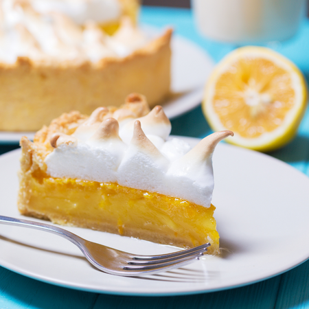 Lemon Chiffon meringue Pie