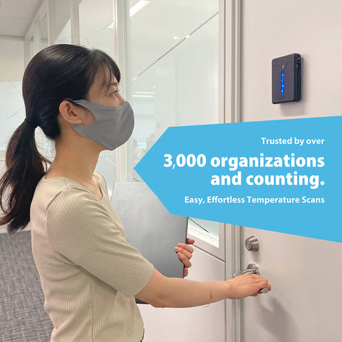 Our device is trusted by over 3000 organizations