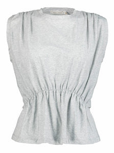 Grey Peplum