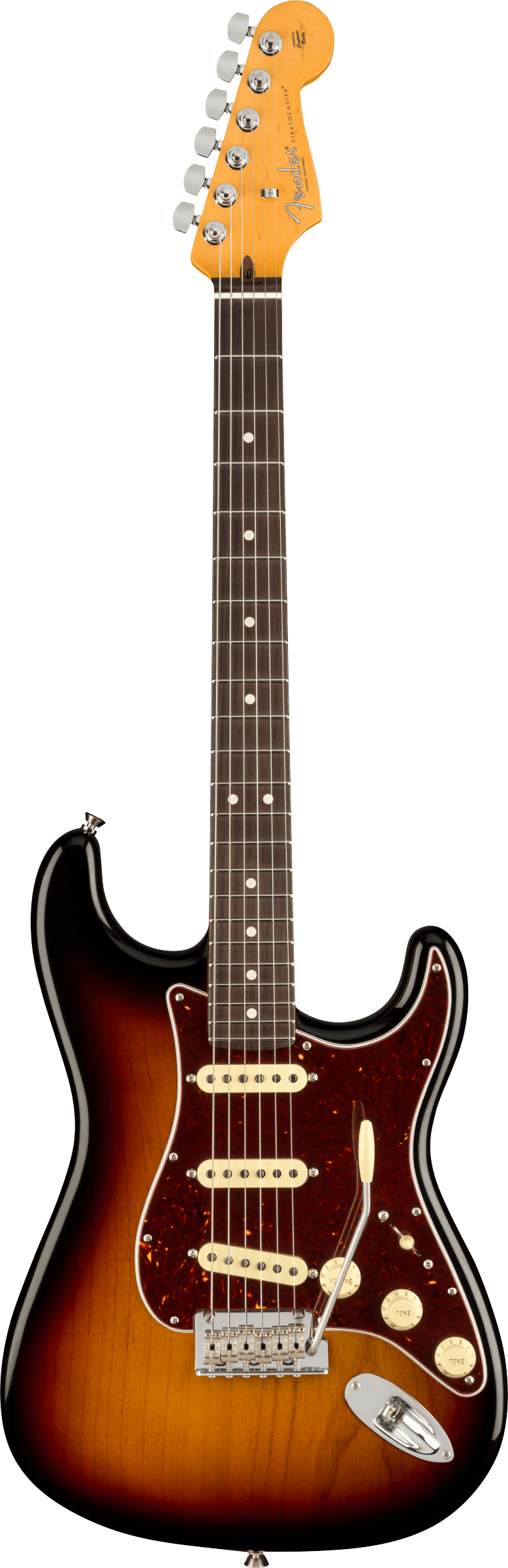 Fender American Professional II Stratocaster 3-Color Sunburst with Case