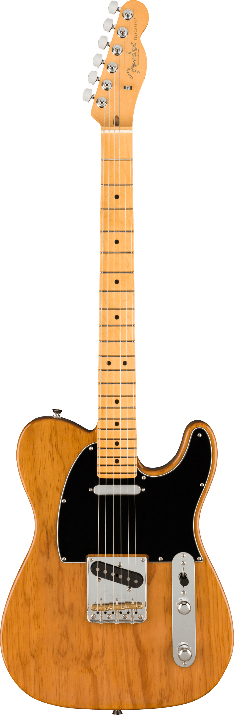 Fender American Professional II Telecaster®, Maple Fingerboard, Roasted Pine