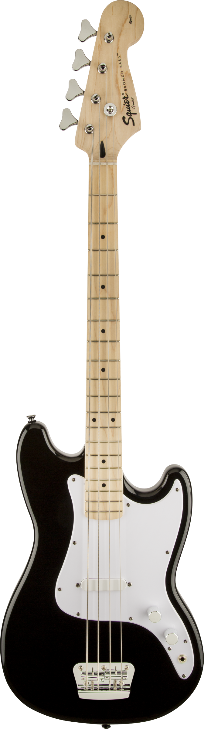 Squier Bronco™ Bass, Maple Fingerboard, Maple Fingerboard, Black