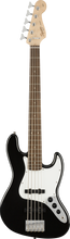 Load image into Gallery viewer, Squier Affinity Jazz Bass V - 5 String - Black