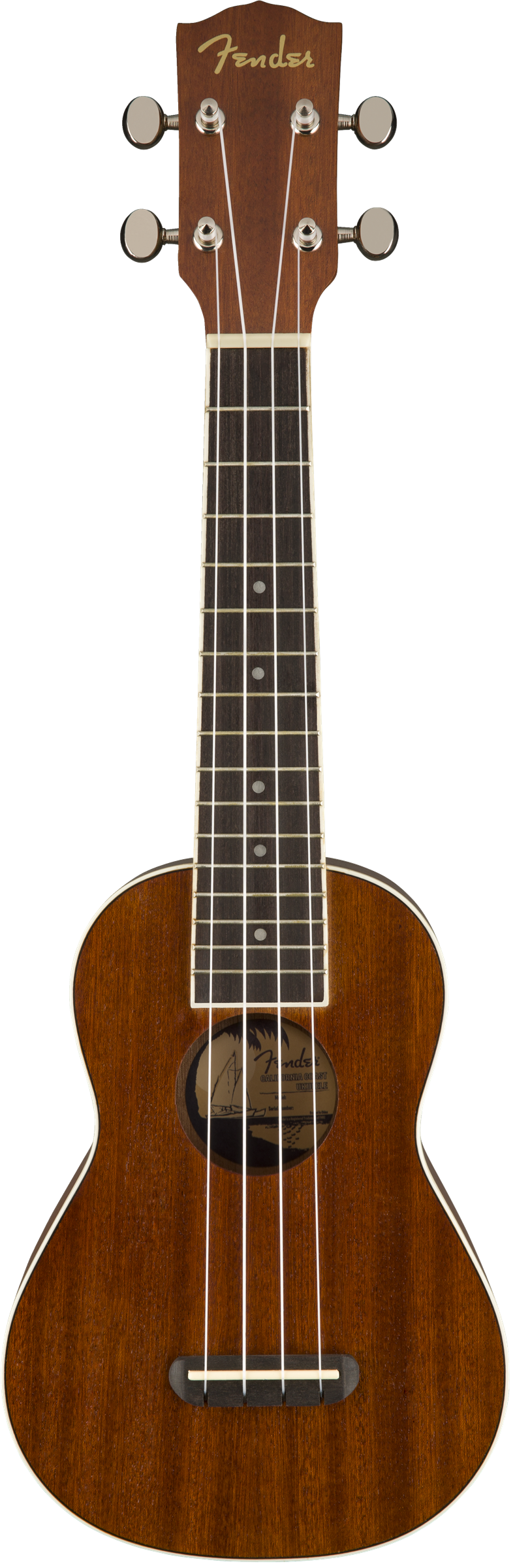 Fender Seaside Soprano Uke, Natural
