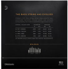 Load image into Gallery viewer, D'Addario NYXL50105 50-105 Long Scale Electric Bass Strings