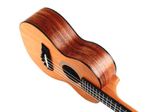 Load image into Gallery viewer, Twisted Wood RR-200C Rock Roots Concert Ukulele w/Gig Bag