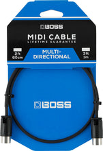 Load image into Gallery viewer, Boss Multi Directional MIDI Cable