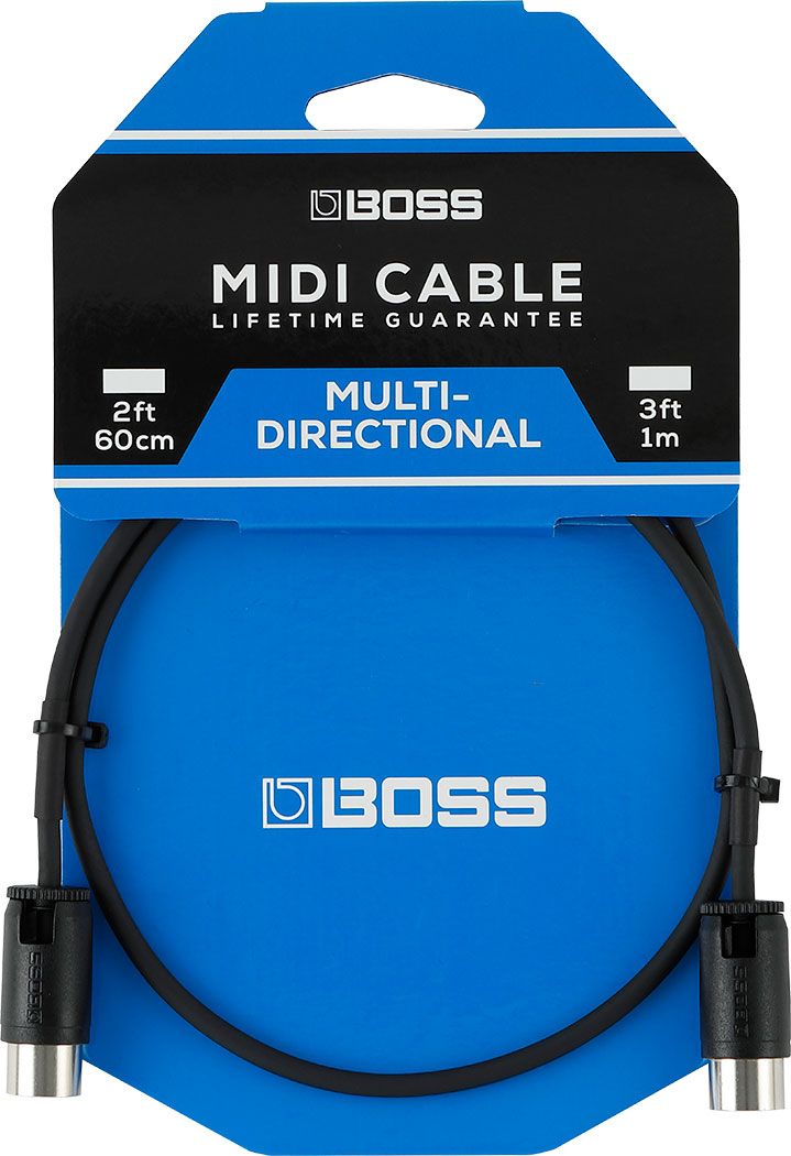 Boss Multi Directional MIDI Cable