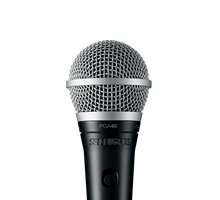 Load image into Gallery viewer, Shure PGA48 Cardioid Dynamic Vocal Microphone w/ XLR to 1/4 Cable