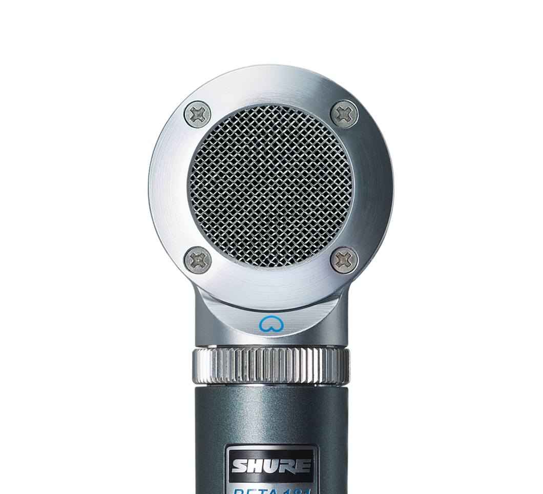 SHURE BETA 181/S Side-Address Condenser Microphone with interchangeable capsules