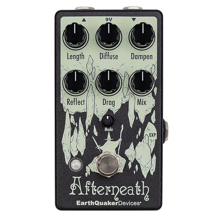 EarthQuaker Devices Afterneath V3 Enhanced Otherworldly Reverberation Machine EQDAFTEV3USA