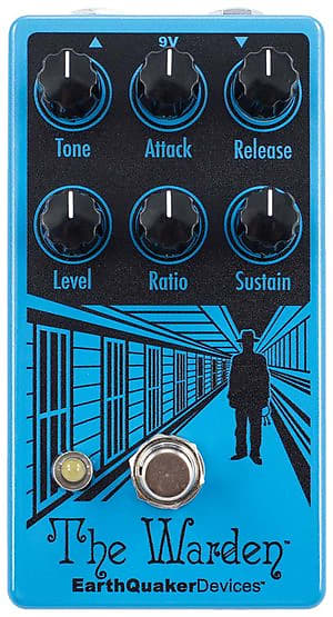 EarthQuaker Devices The Warden V2 Compressor