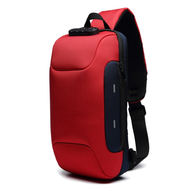 New Arrival Anti-theft Backpack With 3-Digit Lock Shoulder Bag Waterproof for Mobile Phone Travel