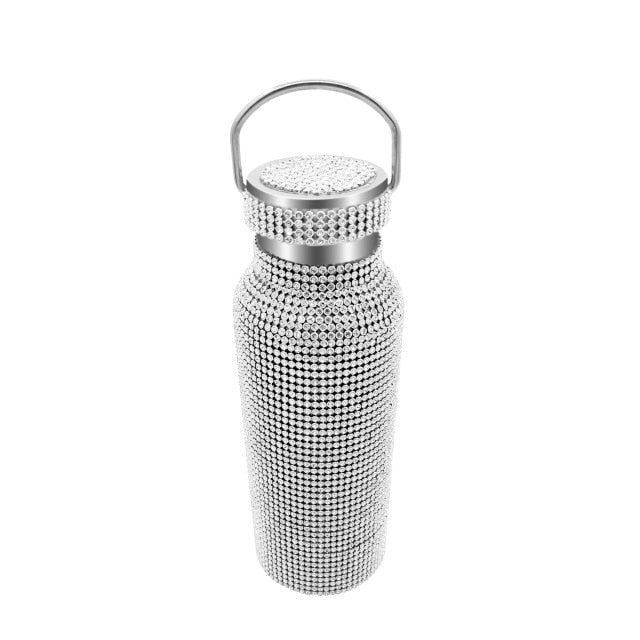 Stainless Steel Vacuum Flask shining Bottles for gift