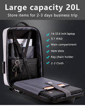 Load image into Gallery viewer, Anti Theft Waterproof Laptop Bag