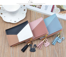 Load image into Gallery viewer, Women's Wallets with Patchwork