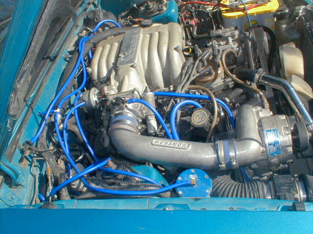 HPSI Silicone Vacuum Hose Kit - Ford Mustang 5 0 DELUXE All