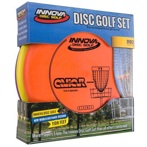Innova DX 3 Pack SpaceSaver Disc Golf Set
