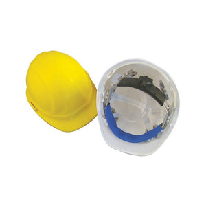 Hard Hat (White) - with ratchet-Bon Tools-Atlas Preservation