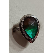 Load image into Gallery viewer, Ammolite Sterling silver Ring Sz 6 1/4