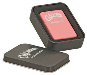 Matte Pink Lighter in Black Tin