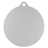 "2"" Laserable Silver Medal"