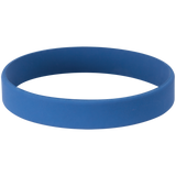 "4 1/8"" Blue/White Laserable Bracelet"