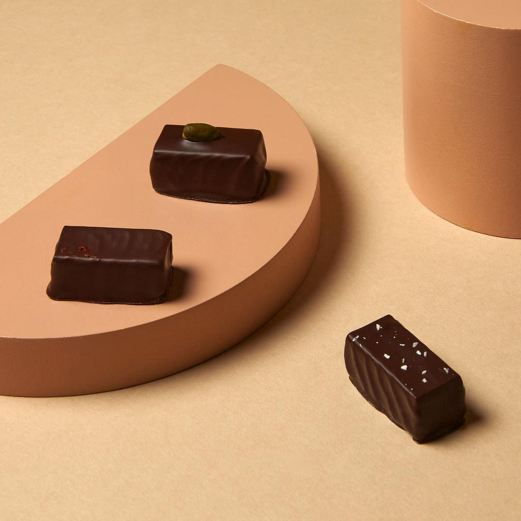 Our fresh, natural, luxury, artisan chocolates