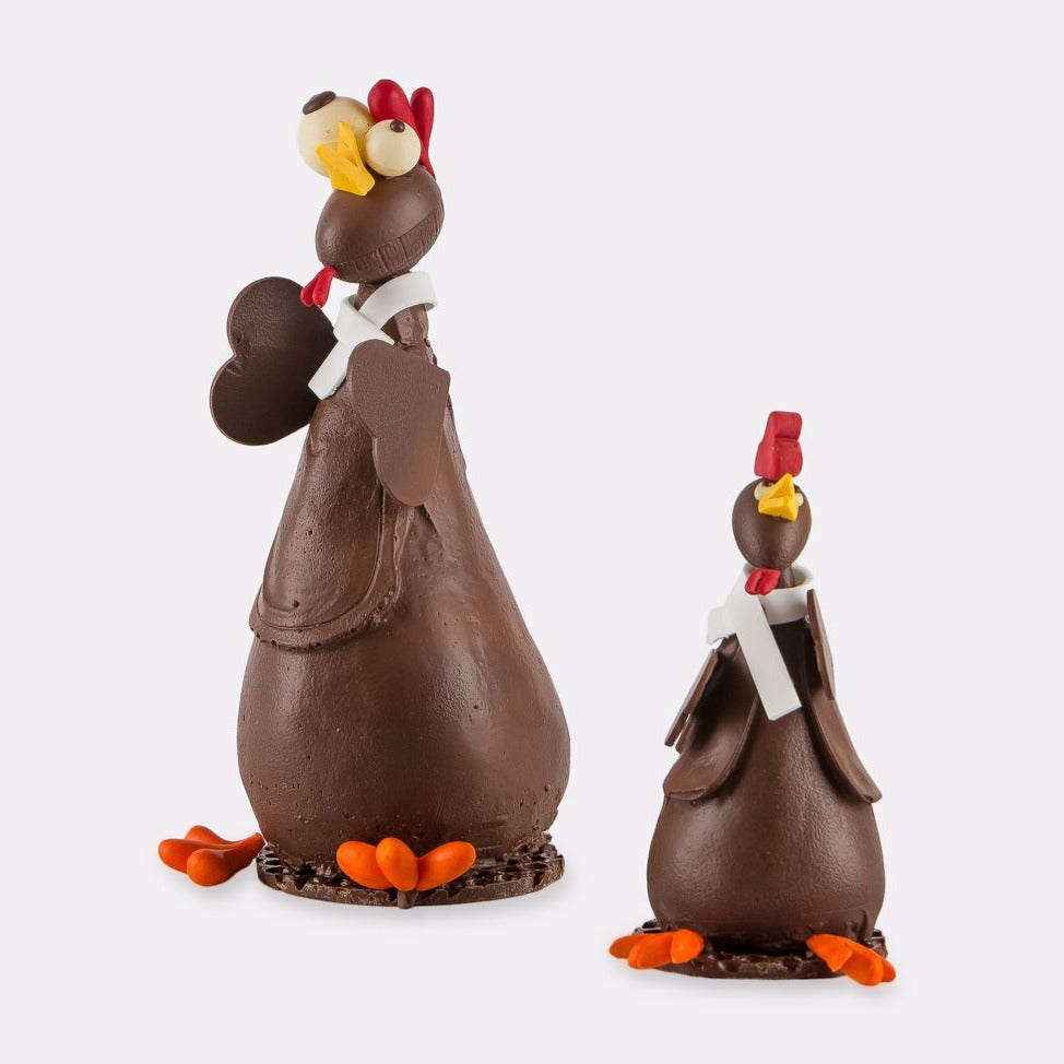Hill St. Chocolate Cluckington - Size 1  (Collection only)