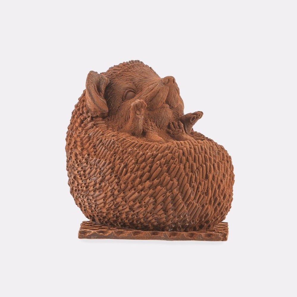 Hill St. Chocolate Hedgehog Sitting Up (Collection from SW store only)