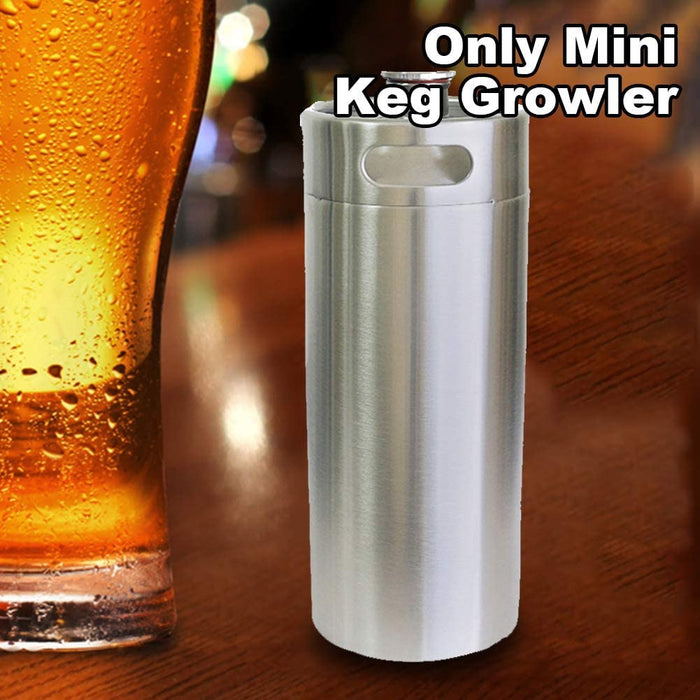 Mini Stainless Steel Homebrewing Beer Barrel