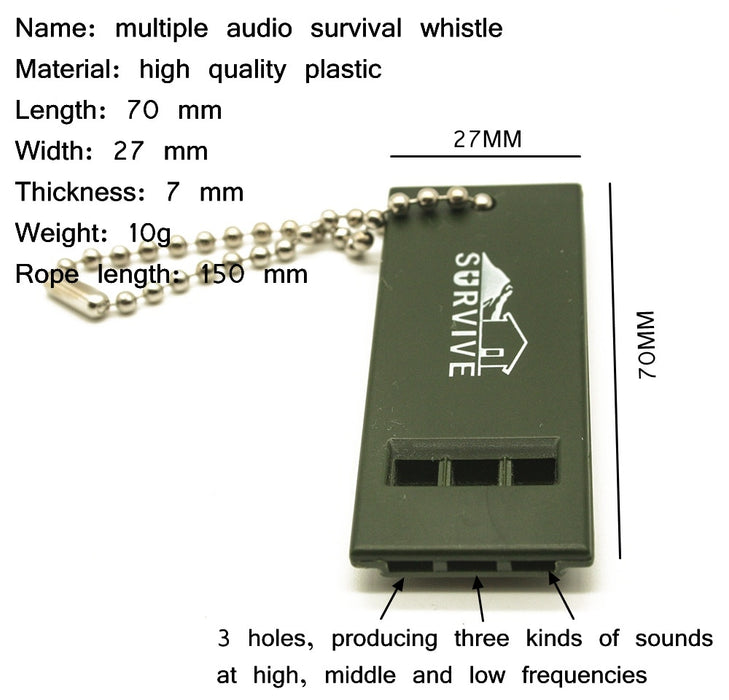 Outdoor Survival Whistle