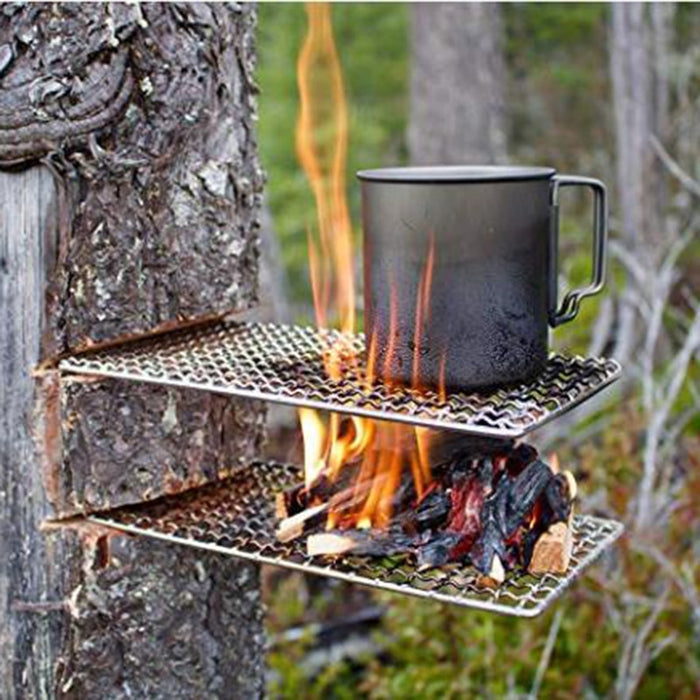 2021 New outdoor camping pot rack