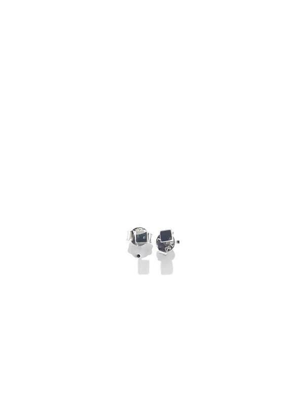 White gold 18K Cubic Earring - Pipat Jewelry Online