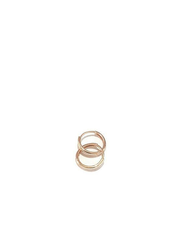 Hoope earring Rose gold 18K