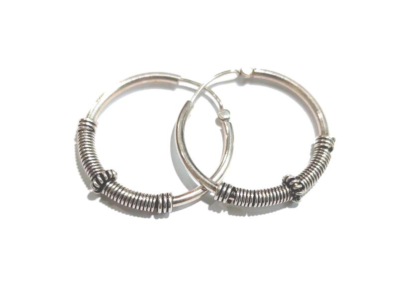 Spring Hoops Earring - Pipat Jewelry Online