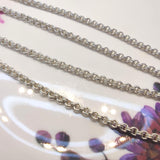 Double rope Silver925 Necklaces