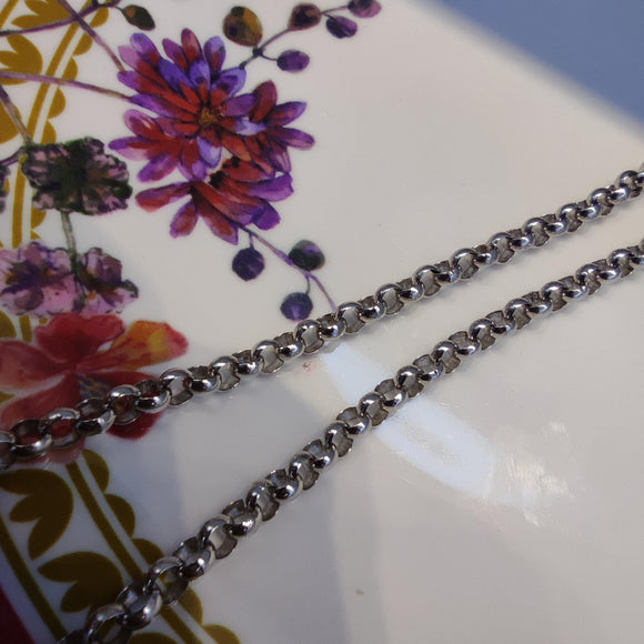 Cable Silver 925 Necklace