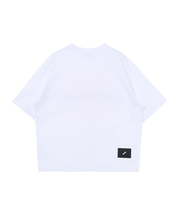 White Homesick Big Logo T-Shirt