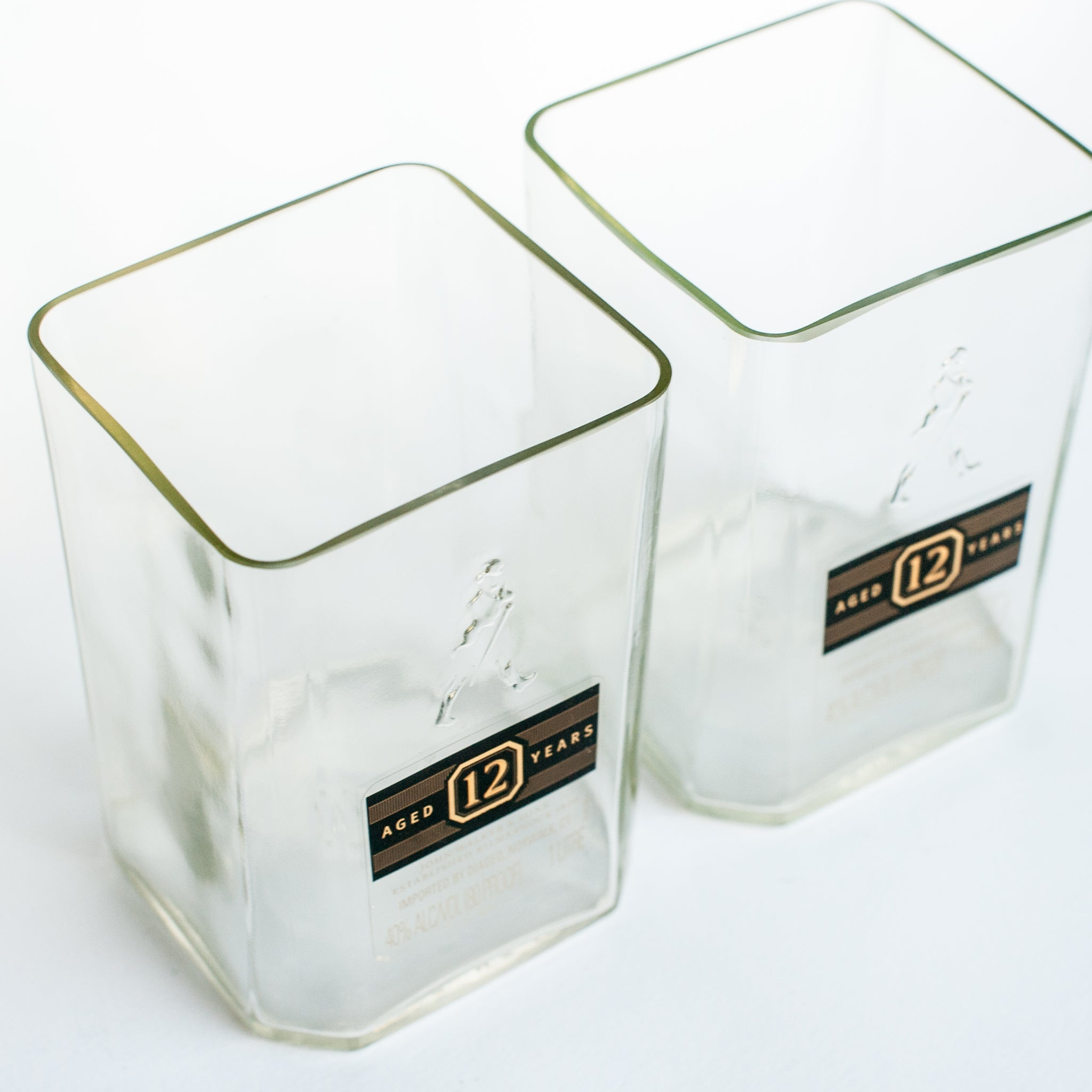 Johnnie Walker Black Rocks Glass Set