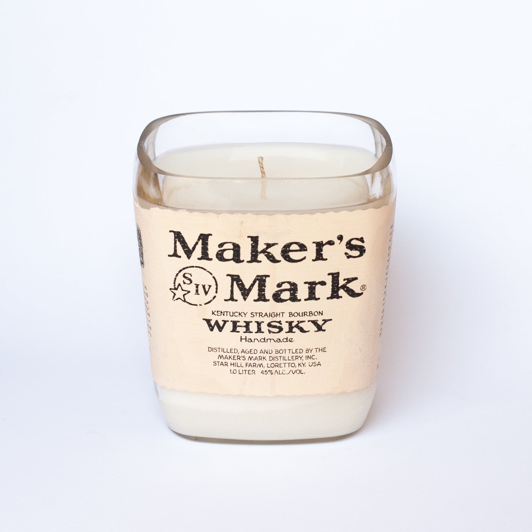 Makers Mark Candle
