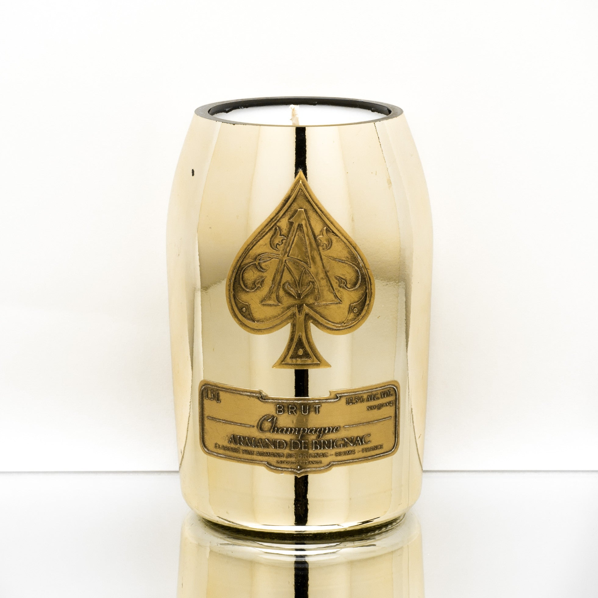 Ace Gold Candle