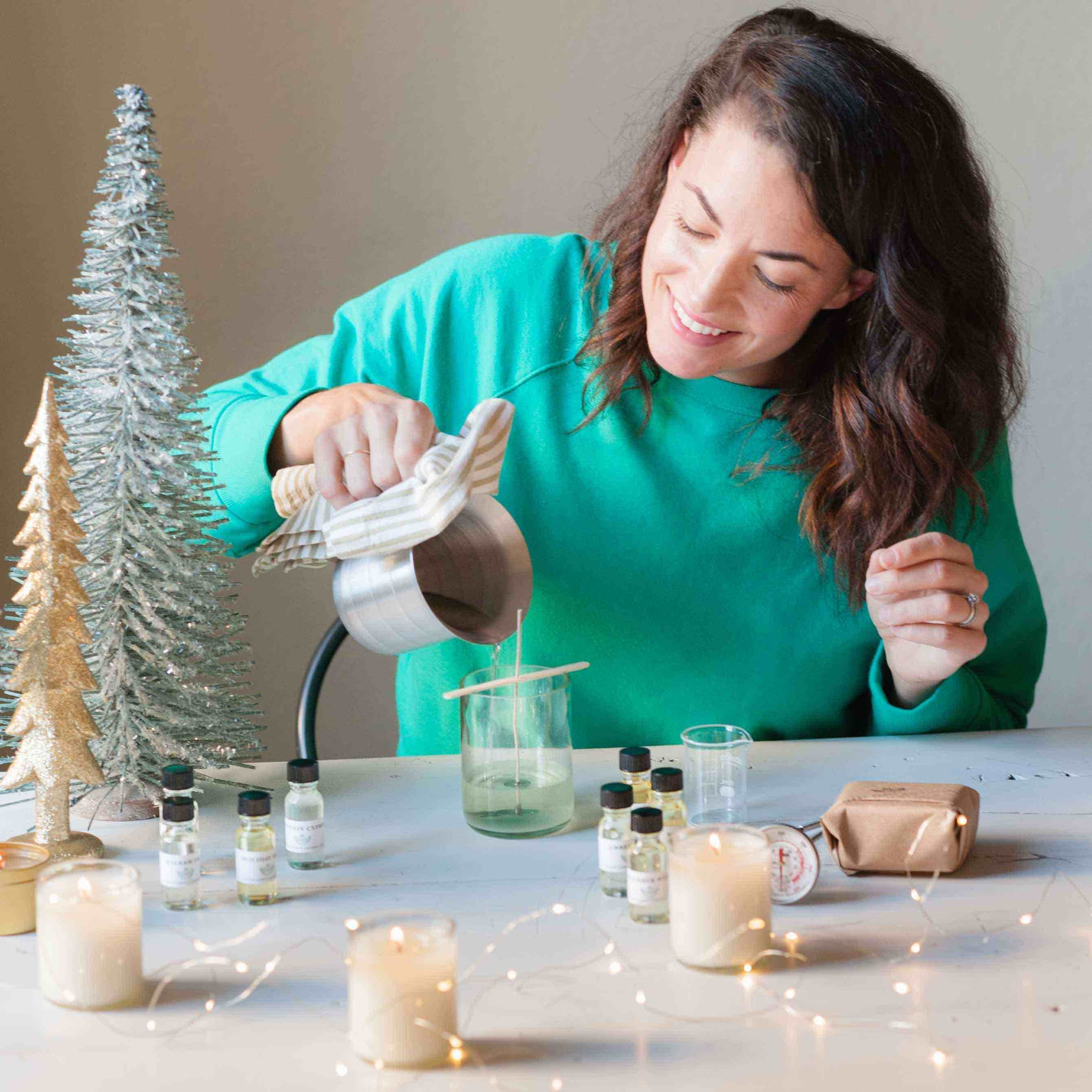 Holiday Candle Kit Refill