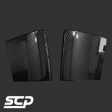 MINI F-Series Carbon Centre Console Side Covers - SCP Automotive